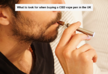 What to look for when buy a CBD vape pen in the UK